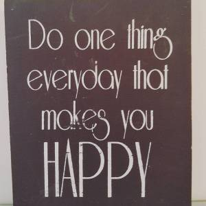 Do one thing everyday that makes you happy | The Creative Gym | creativegymnyc.com